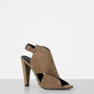 9f51a1e8b59 All Saints Shoes - Allsaints Ulla Heel in Mustard Size 8 US